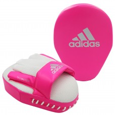 ADIDAS SPEED MESH FOCUS MITTS (PAIR) SHOCK PINK/SILVER