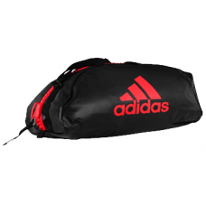 ADIDAS SPORT BAG TRAINING II BLACK / RED