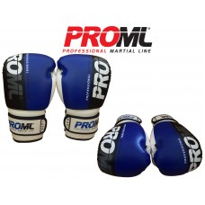 BOXING GLOVES PUNCH BAG TRAINING PRO ML BLUE/BLACK