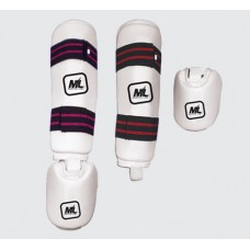 ML SHIN INSTEP GUARD WHITE
