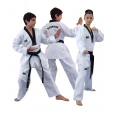 ML TAEKWONDO UNIFORM - BLACK V NECK