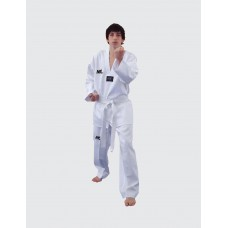 ML TAEKWONDO UNIFORM - WHITE V NECK